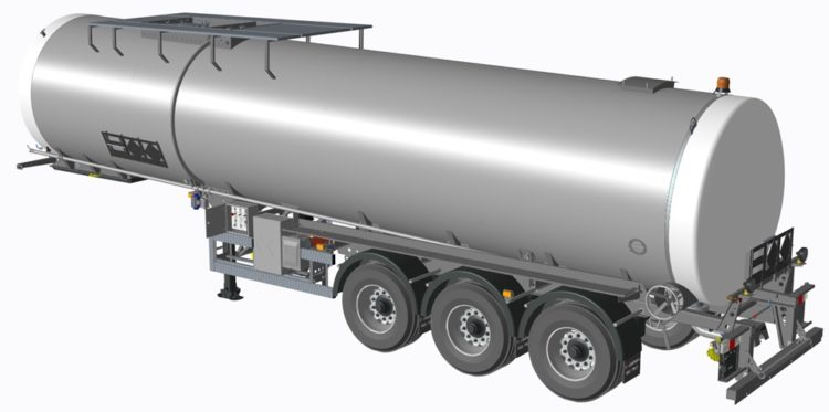 We are the preferred supplier for bitumen tankers in the UK Marker