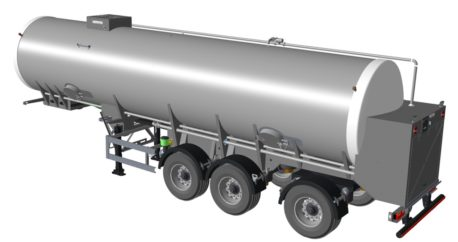 Crossland create tankers for the milk industry