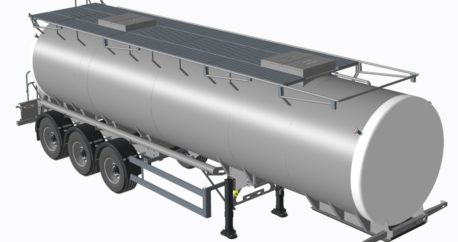 We create tankers for the food transport industry